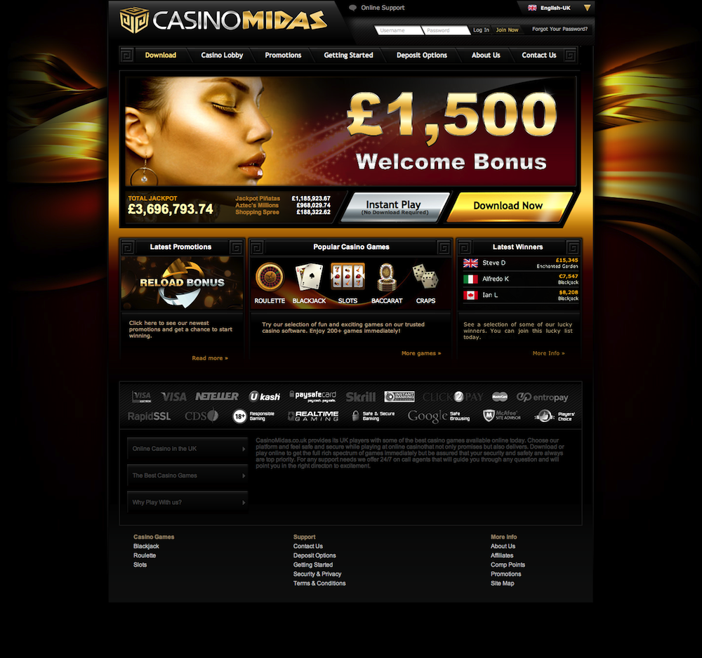 casino midas sign up bonus