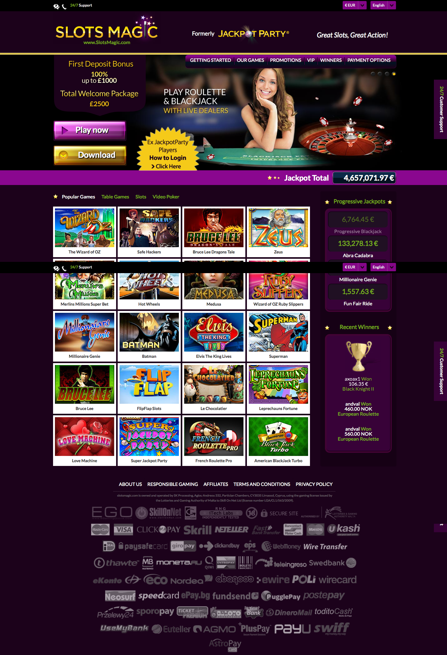 Prime Slots Casino Review – User Ratings and Comments